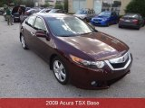 2009 Basque Red Pearl Acura TSX Sedan #94175829