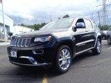 2014 Brilliant Black Crystal Pearl Jeep Grand Cherokee Summit 4x4 #94175561