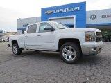 2014 Summit White Chevrolet Silverado 1500 LTZ Crew Cab 4x4 #94175879