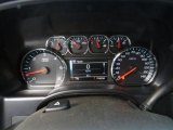 2014 Chevrolet Silverado 1500 LTZ Double Cab Gauges