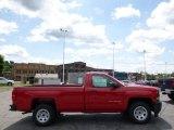 2014 Victory Red Chevrolet Silverado 1500 WT Regular Cab #94175715