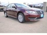 2014 Opera Red Metallic Volkswagen Passat 1.8T Wolfsburg Edition #94176089