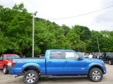 2014 Blue Flame Ford F150 FX4 SuperCrew 4x4 #94175697