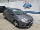 2014 Sterling Gray Ford Focus S Sedan #94175614