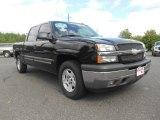 2005 Black Chevrolet Silverado 1500 Z71 Crew Cab 4x4 #94175528