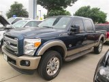 2014 Blue Jeans Metallic Ford F250 Super Duty King Ranch Crew Cab 4x4 #94218910
