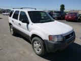 2003 Ford Escape Oxford White