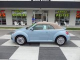 2013 Denim Blue Volkswagen Beetle 2.5L Convertible #94219407