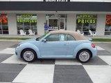 2013 Denim Blue Volkswagen Beetle 2.5L Convertible #94219407