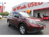 2012 Basque Red Pearl II Honda CR-V LX #94219008