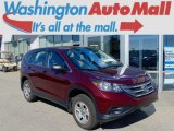 2013 Basque Red Pearl II Honda CR-V LX AWD #94219104