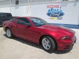 2014 Ruby Red Ford Mustang V6 Coupe #94218934