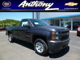 2014 Tungsten Metallic Chevrolet Silverado 1500 WT Regular Cab 4x4 #94219642