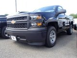 2014 Black Chevrolet Silverado 1500 WT Regular Cab #94218710