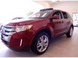2014 Ruby Red Ford Edge Limited #94219075
