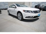 Candy White Volkswagen CC in 2014