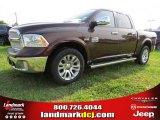 2014 Western Brown Ram 1500 Laramie Longhorn Crew Cab #94292450
