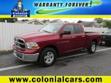 2012 Deep Molten Red Pearl Dodge Ram 1500 SLT Quad Cab 4x4 #94292712