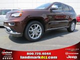 2014 Deep Auburn Pearl Jeep Grand Cherokee Summit 4x4 #94292428