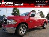 2014 Flame Red Ram 1500 Big Horn Quad Cab #94292479