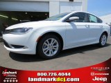 2015 Bright White Chrysler 200 Limited #94292464