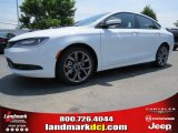 2015 Bright White Chrysler 200 S #94292463