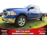 2014 Blue Streak Pearl Coat Ram 1500 Big Horn Crew Cab #94292457