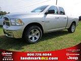 2014 Bright Silver Metallic Ram 1500 SLT Quad Cab #94292454