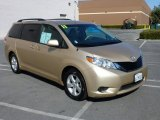2011 Sandy Beach Metallic Toyota Sienna LE #94292409