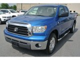 2007 Blue Streak Metallic Toyota Tundra SR5 Double Cab #94320745