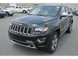 2014 Brilliant Black Crystal Pearl Jeep Grand Cherokee Overland 4x4 #94320744