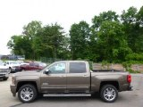 2014 Brownstone Metallic Chevrolet Silverado 1500 High Country Crew Cab 4x4 #94320807