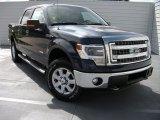 2014 Blue Jeans Ford F150 XLT SuperCrew 4x4 #94320508