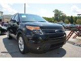 2013 Tuxedo Black Metallic Ford Explorer Limited #94320576