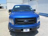 2014 Blue Flame Ford F150 STX SuperCab #94320339