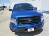 2014 Blue Flame Ford F150 STX SuperCrew #94320337