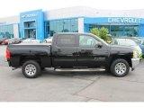 2012 Black Chevrolet Silverado 1500 LS Crew Cab #94320317