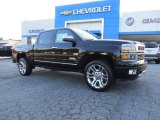 2014 Black Chevrolet Silverado 1500 High Country Crew Cab 4x4 #94320545