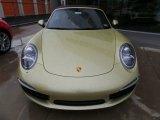 2014 Porsche 911 Lime Gold Metallic