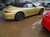 2014 Porsche 911 Lime Gold Metallic