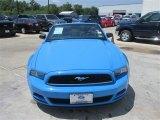 2013 Grabber Blue Ford Mustang V6 Convertible #94320376
