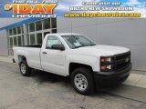 2014 Summit White Chevrolet Silverado 1500 WT Regular Cab #94360601
