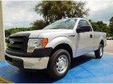 2014 Ingot Silver Ford F150 XL Regular Cab #94360728
