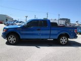 2014 Blue Flame Ford F150 STX SuperCab #94360653