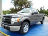 2014 Sterling Grey Ford F150 XL Regular Cab #94360725