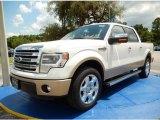 2014 White Platinum Ford F150 King Ranch SuperCrew #94360723
