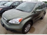 2009 Green Tea Metallic Honda CR-V EX-L 4WD #94361014