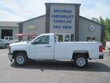 2014 Summit White Chevrolet Silverado 1500 WT Regular Cab #94395150