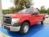 2014 Vermillion Red Ford F150 XL Regular Cab #94394729