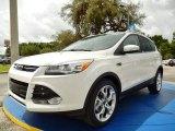 2014 White Platinum Ford Escape Titanium 2.0L EcoBoost #94394726